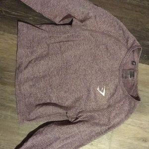 Gymshark long sleeve crop